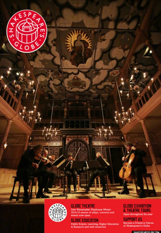 Artists in Residence at Shakespeare's Globe, London