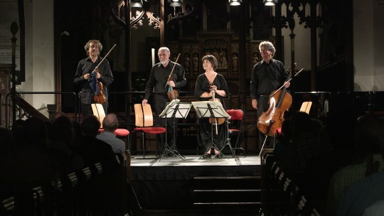 Video: The Chilingirian Quartet Live at Petworth Festival