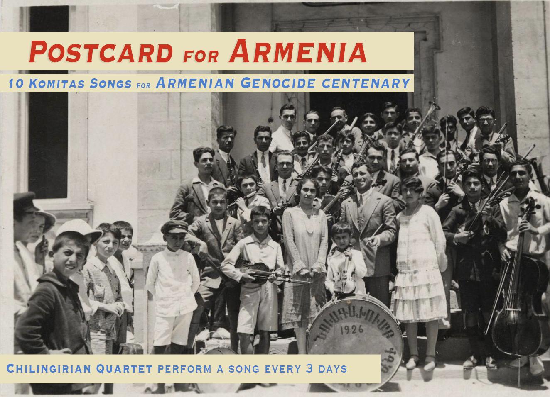 10 Songs by Komitas Armenian Genocide centenary