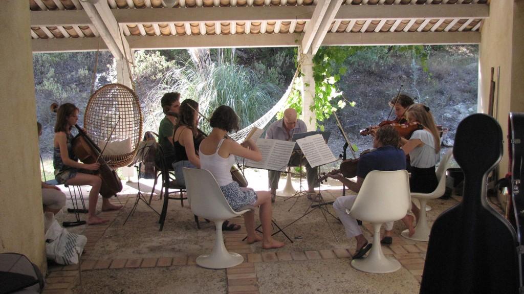 Seillans-rehearsing